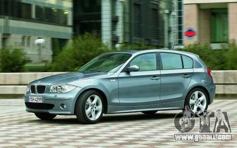 Boot screens BMW 120i for GTA 4 seventh screenshot