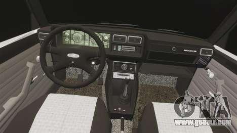 VAZ-2107 Lada for GTA 4 side view