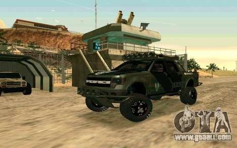 Ford F150 Raptor Unique Edition for GTA San Andreas