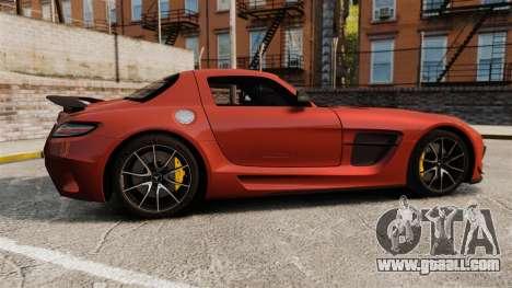Mercedes-Benz SLS 2014 AMG Black Series for GTA 4 left view
