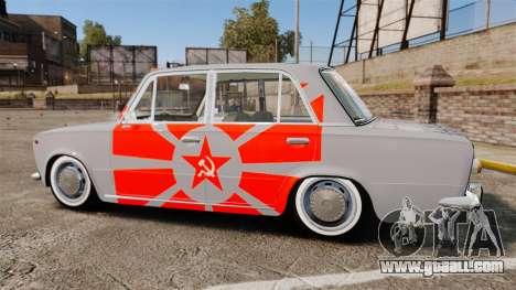 VAZ-Lada 2101 USSR for GTA 4 left view