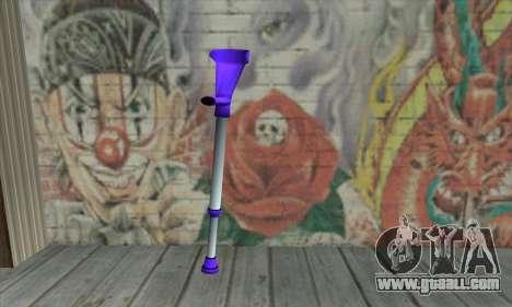 Crutch for GTA San Andreas