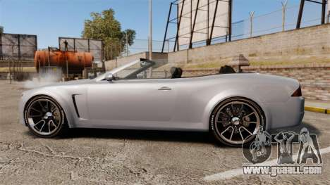 GTA V Lampadati Felon GT for GTA 4 left view
