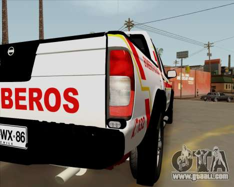 Nissan Terrano for GTA San Andreas left view
