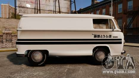 Volkswagen Transpoter 2 1975 for GTA 4 left view