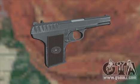 TT Pistol for GTA San Andreas second screenshot