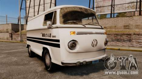 Volkswagen Transpoter 2 1975 for GTA 4