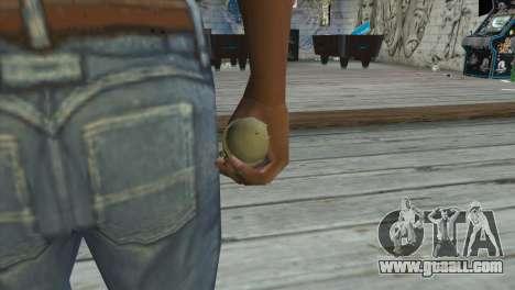 M39 Einhandgranate for GTA San Andreas third screenshot