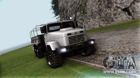 KrAZ 6322 for GTA San Andreas back view