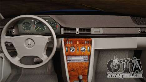 Mercedes-Benz E320 W124 for GTA San Andreas inner view