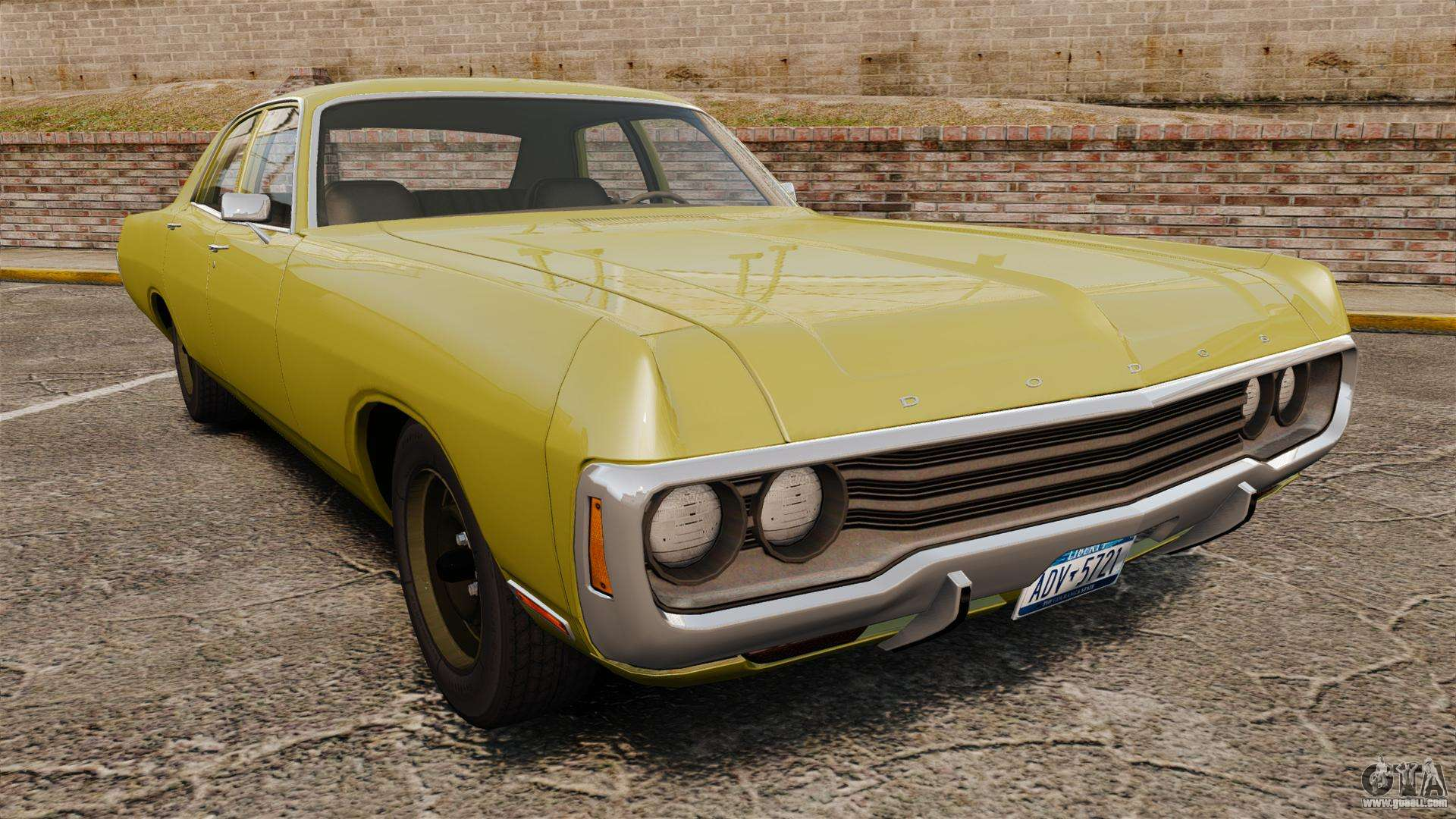 Dodge Polara 1971 for GTA 4