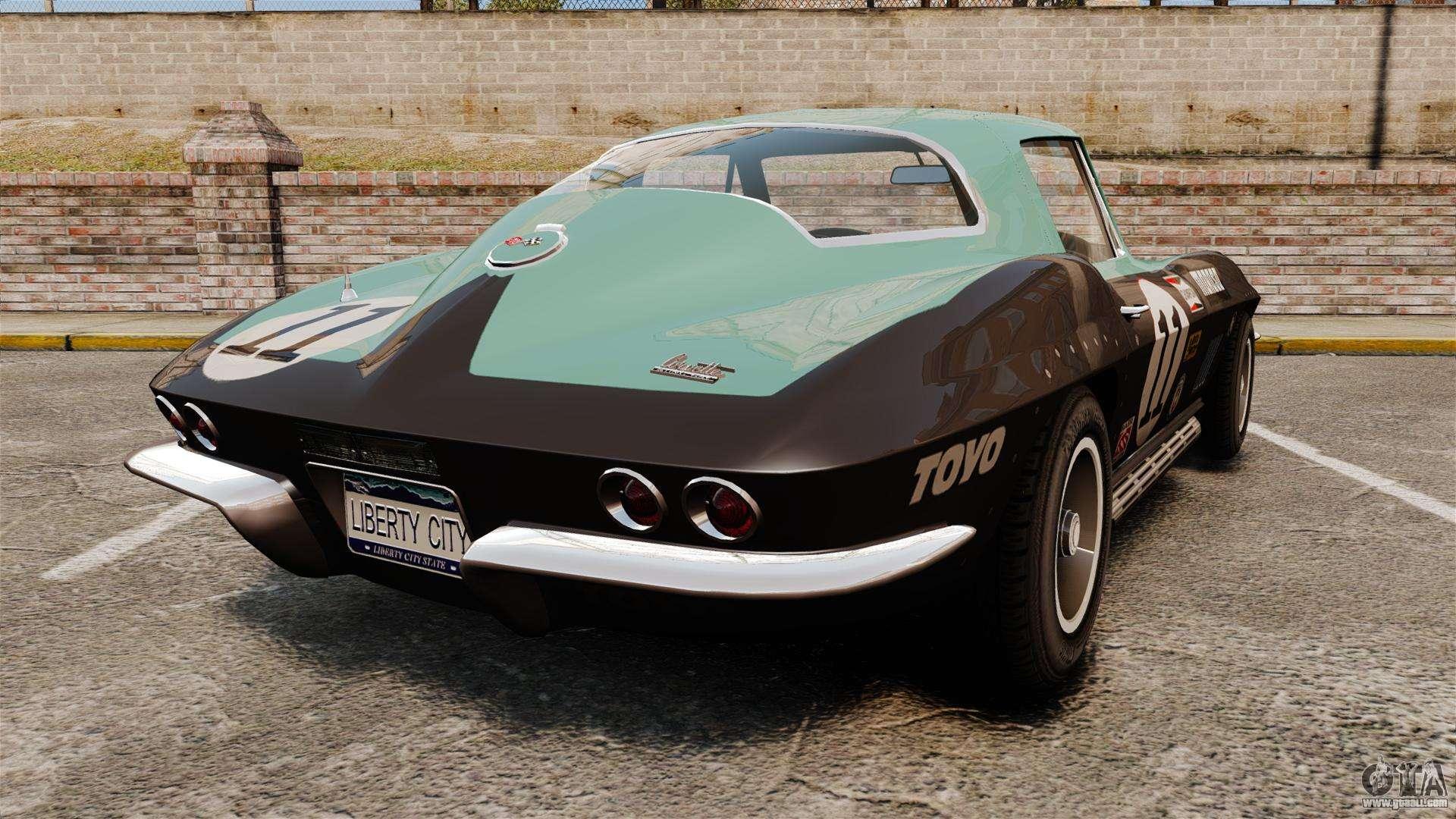 chevrolet corvette c2 1967 for gta 4. Black Bedroom Furniture Sets. Home Design Ideas