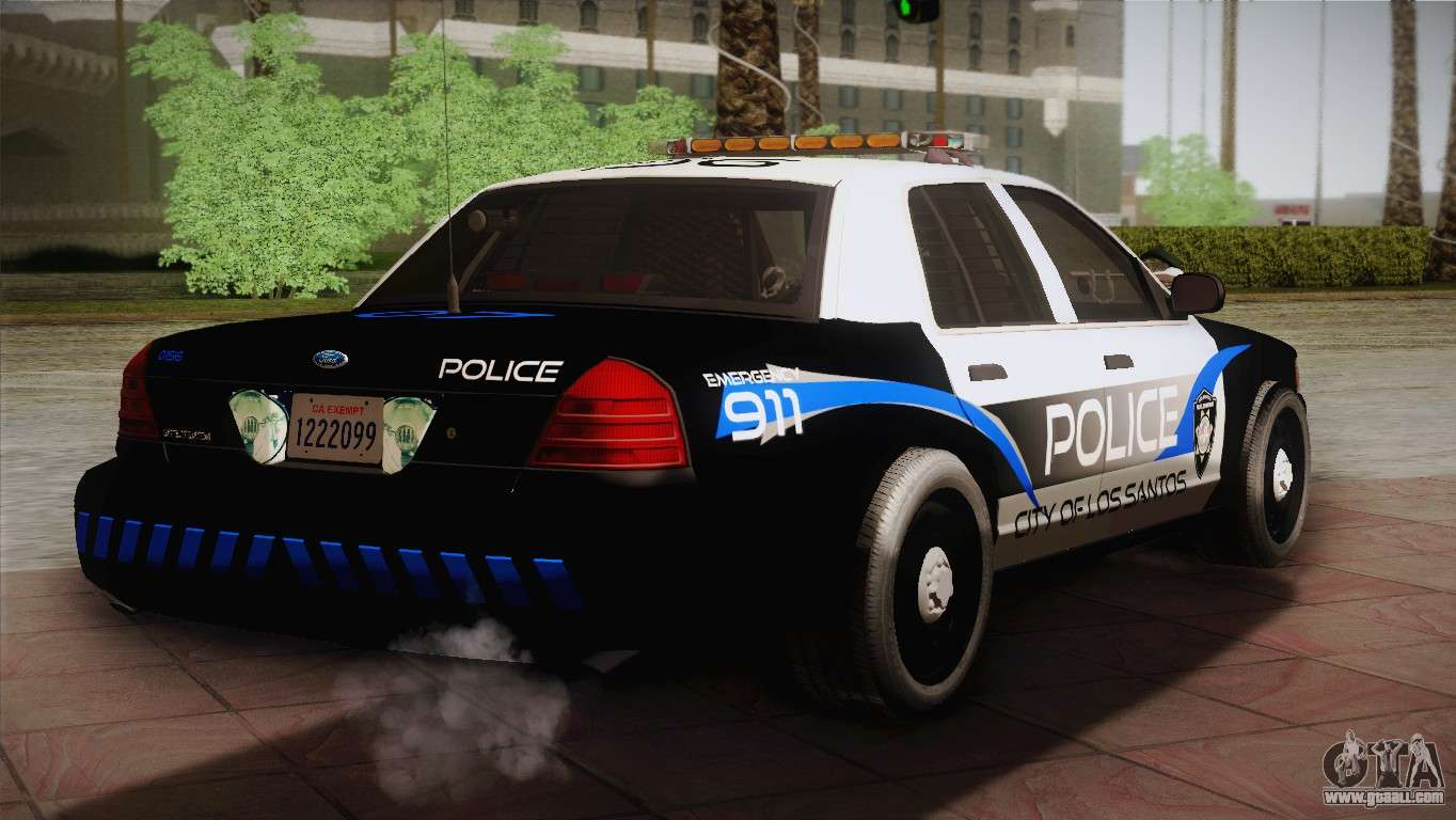 Ford Crown Victoria Police Interceptor >> Ford Crown Victoria Police Interceptor 2009 for GTA San Andreas