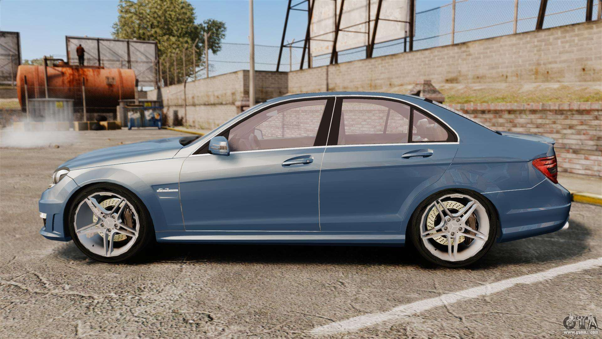 Mercedes benz c63 amg 2013 for gta 4 for 2013 mercedes benz c63 amg