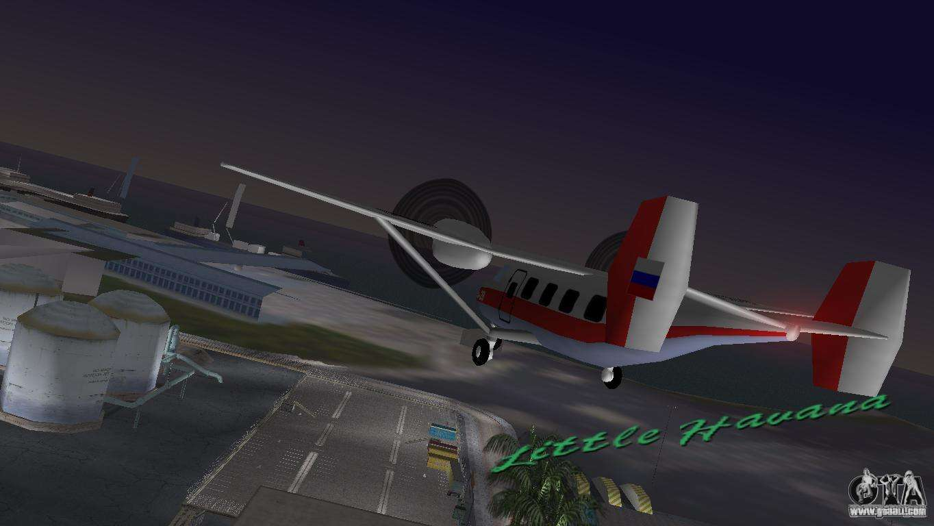 how to drive aeroplane in gta vice city