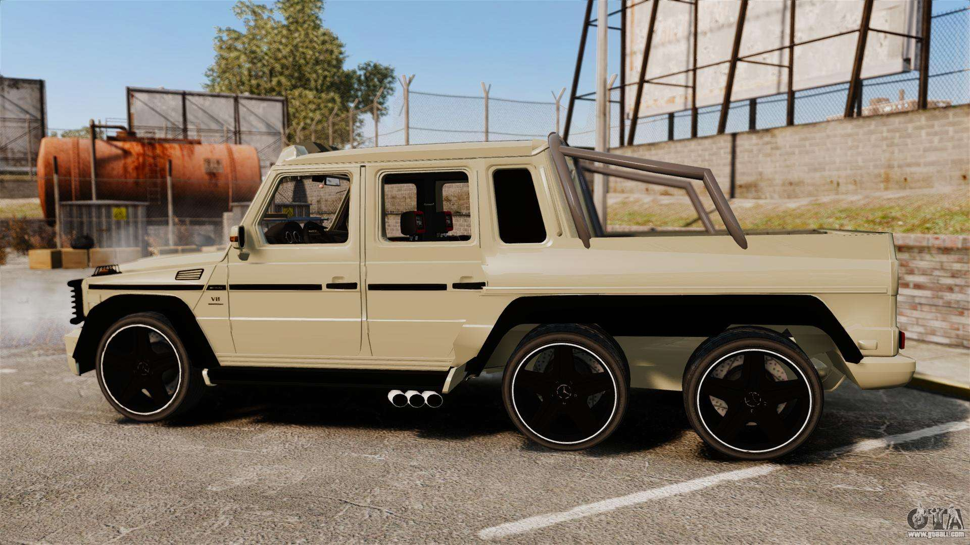 Mercedes benz g63 amg 6x6 for gta 4 for Mercedes benz g63 6x6 for sale