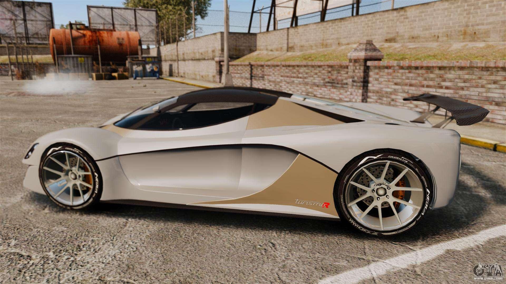 Turismo Car: GTA V Grotti Turismo R For GTA 4