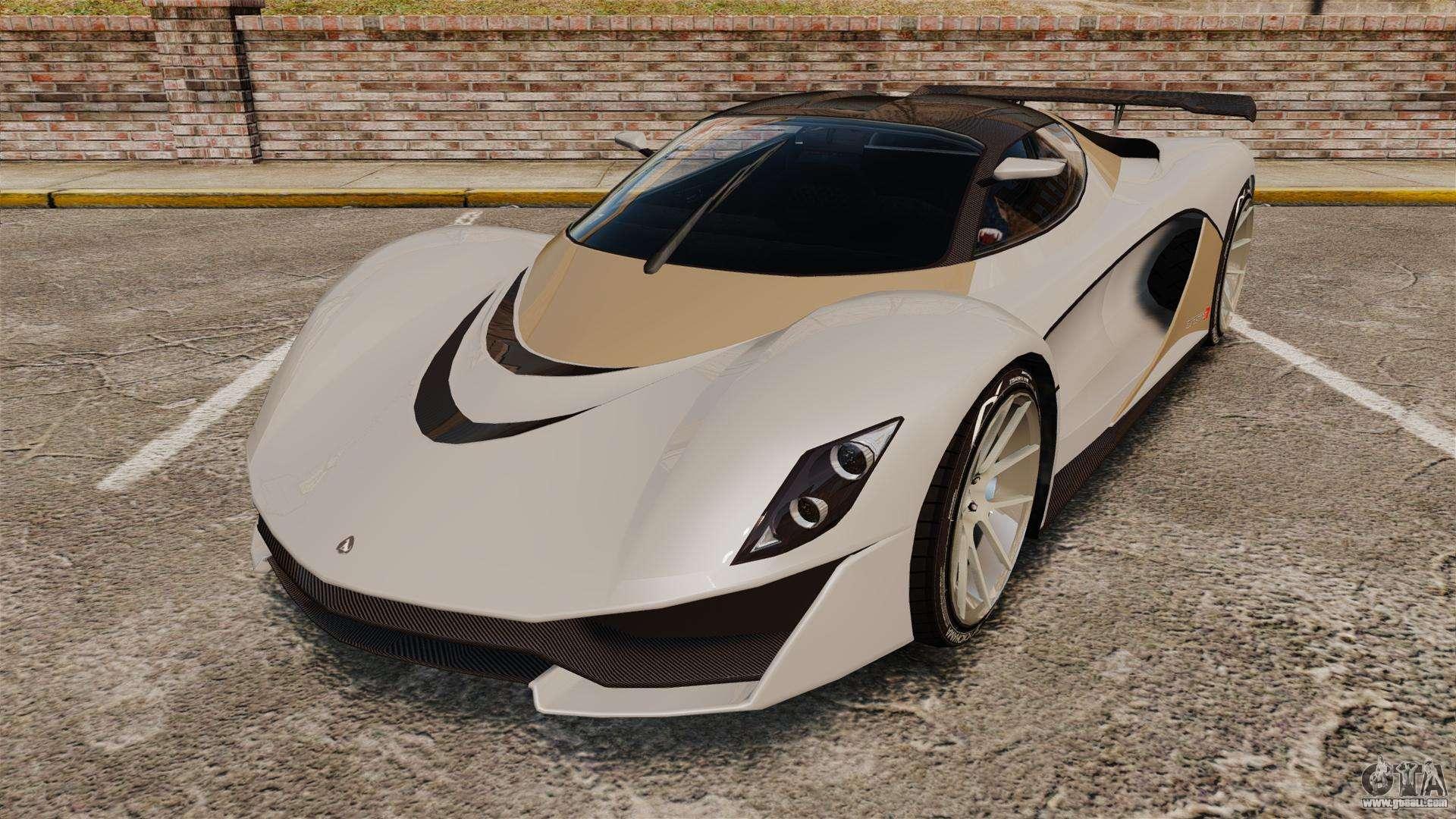 GTA V Grotti Turismo R for GTA 4