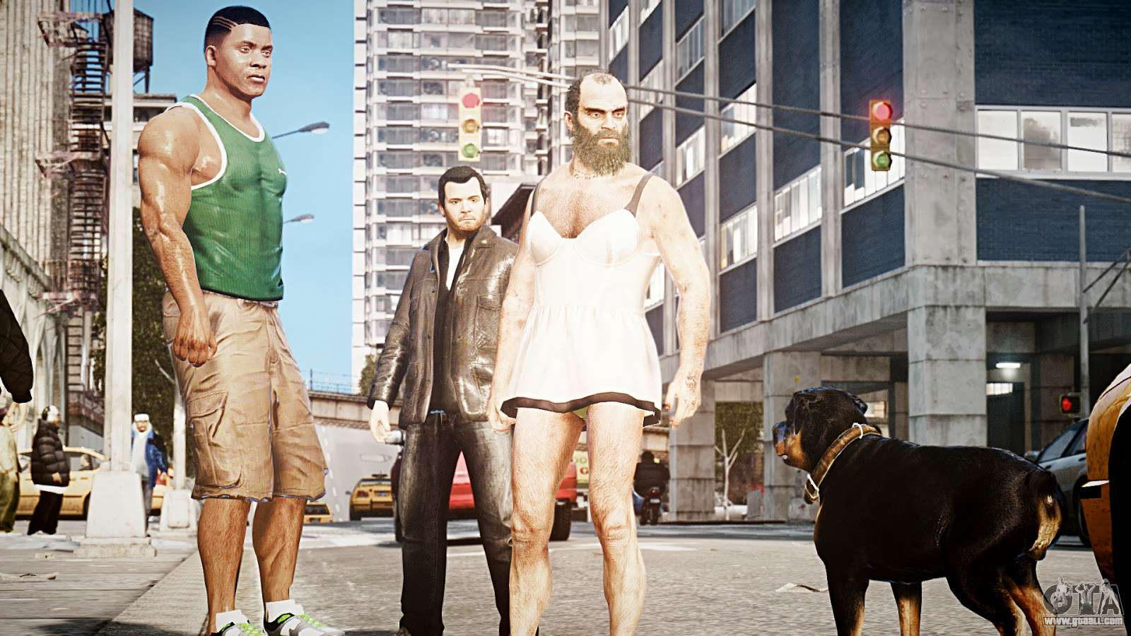 How big is gta 5 download ps3 in game for pc