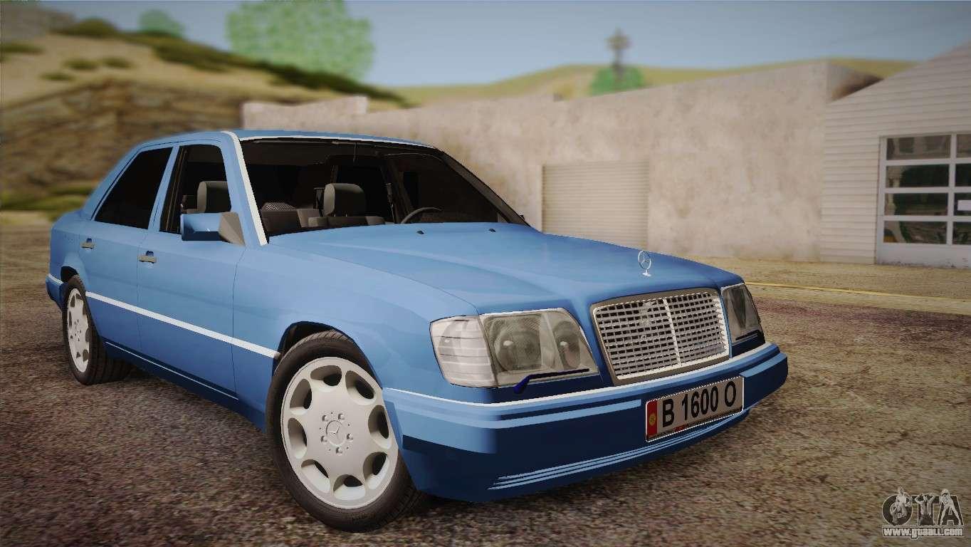 Mercedes benz e320 w124 for gta san andreas for E320 mercedes benz