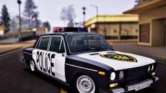 VAZ 2106 Police for GTA San Andreas