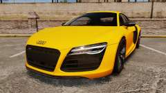 Audi R8 V10 plus Coupe 2014 [EPM] [Update] for GTA 4