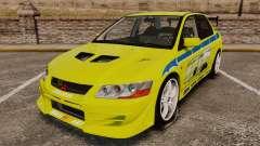 Mitsubishi Lancer Evolution VII 2002 for GTA 4