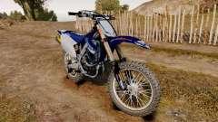 Kawasaki KX250F (Yamaha) for GTA 4