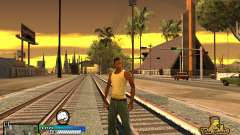 C-HUD Old School for GTA San Andreas