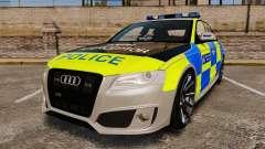 Audi S4 2013 Metropolitan Police [ELS]