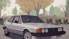 Volkswagen Scirocco S (Typ 53) 1981 HQLM for GTA San Andreas