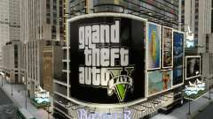 Billboards of GTA 5 for GTA 4