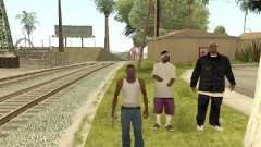 Go to the gang of Ballas for GTA San Andreas