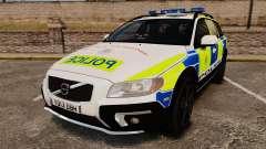 Volvo XC70 2014 Police [ELS]