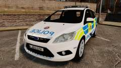 Ford Focus Estate British Police [ELS]