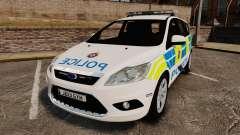 Ford Focus Estate British Police [ELS] for GTA 4