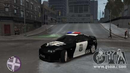 Holden Monaro CV8-R Police for GTA 4