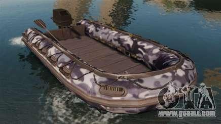 US Navy SEAL Zodiac for GTA 4