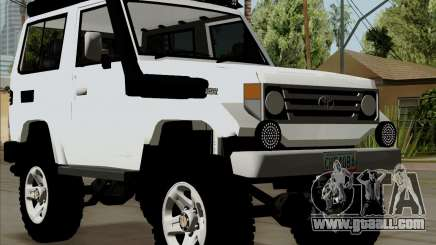 Toyota Land Cruiser Machito 2009 LX for GTA San Andreas