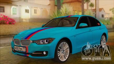 BMW 328d 2014 for GTA San Andreas