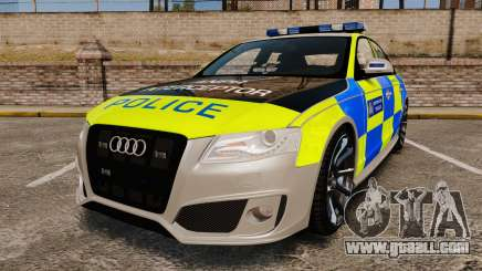 Audi S4 2013 Metropolitan Police [ELS] for GTA 4