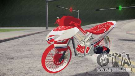 Vario Drag version JKT48 for GTA San Andreas