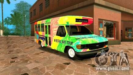 Ford E350 Shuttle Bus for GTA San Andreas