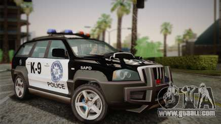 NFS Suv Rhino Heavy - Police car 2004 for GTA San Andreas