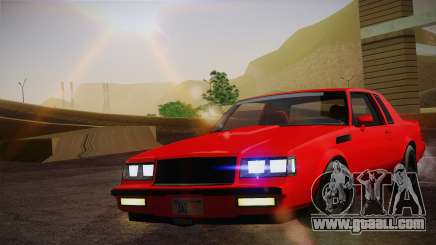 Buick Regal GNX for GTA San Andreas