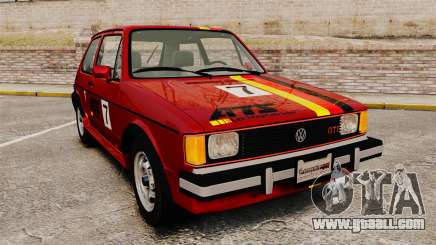 Volkswagen Rabbit GTI 1984 for GTA 4