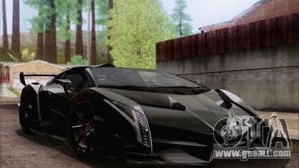 Lamborghini Veneno Roadster LP750-4 2014 for GTA San Andreas