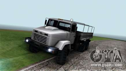 KrAZ 6322 for GTA San Andreas