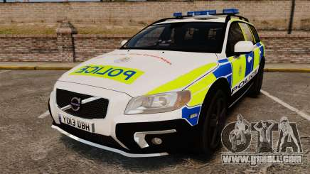 Volvo XC70 2014 Police [ELS] for GTA 4