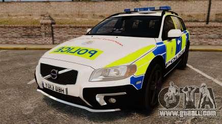Volvo XC70 2014 Police [ELS] for GTA 4